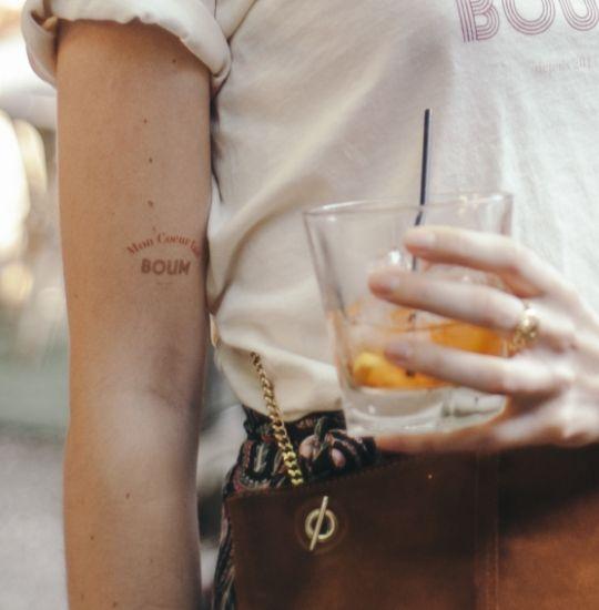 Tatouages éphémères sur-mesure