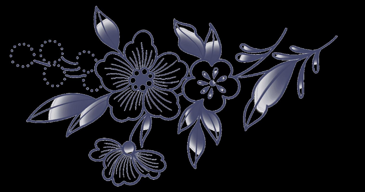 collaboration armelle stb et bernard forever gravure florale de biais
