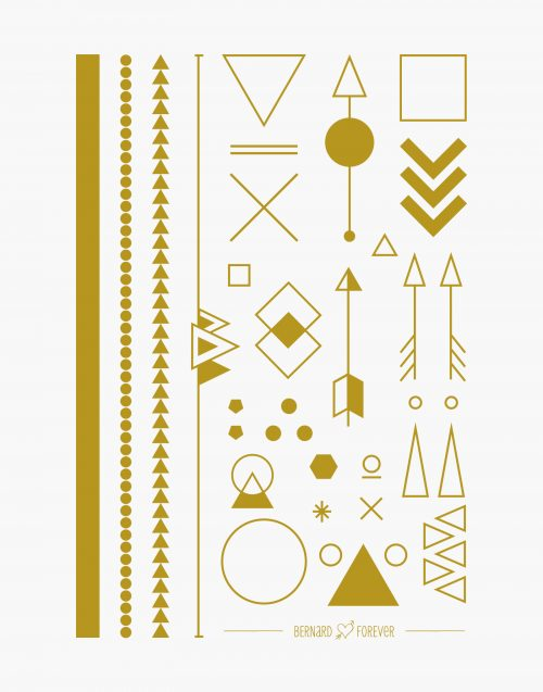 angle d'or bijou éphémère