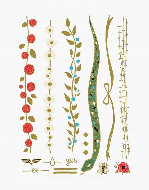 le petit jardin anne-claire bijou éphémère