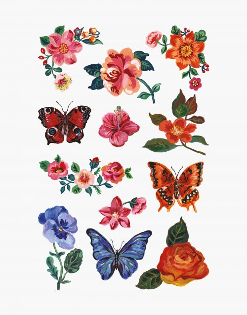 à fleur de peau nathalie lété tatouage temporaire