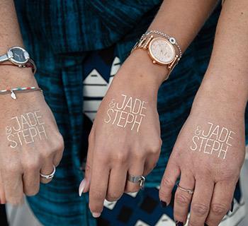 Personnalisez vos tatouages temporaires !