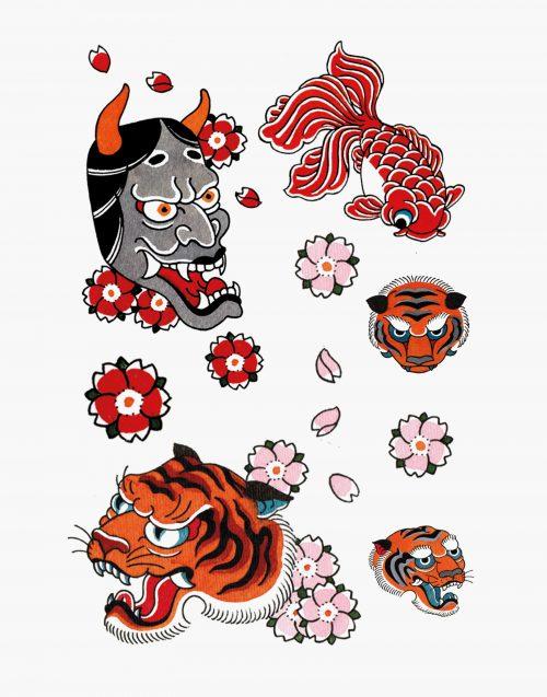 noémie alazard tigerwood tatouage éphémère