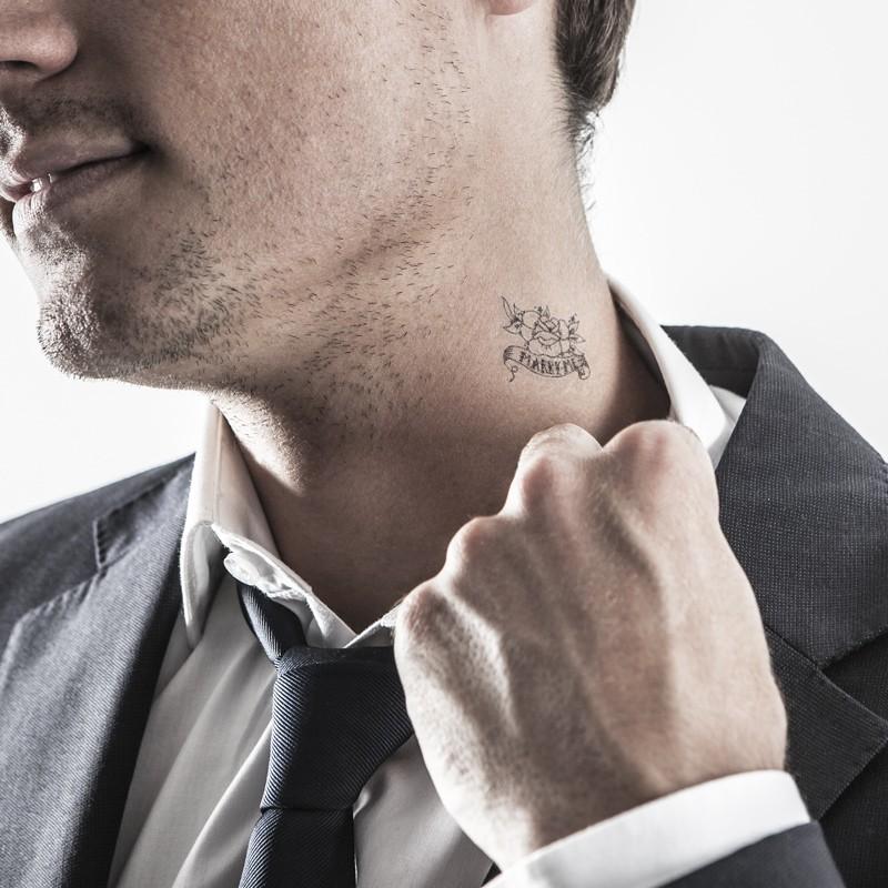 Le mariage gai tatouage temporaire mariage