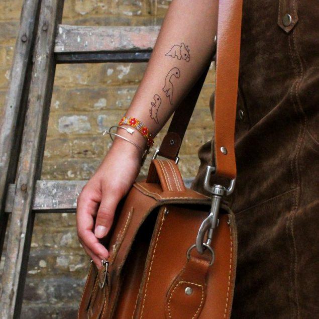 tatouages éphémères enfant bernard forever