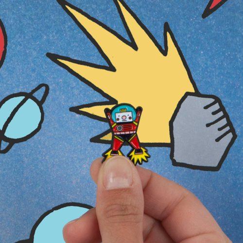 Pin's Chouno le robot
