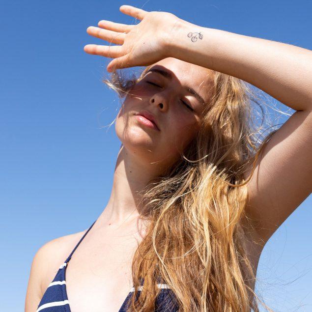 planche de tatouage ephemere
