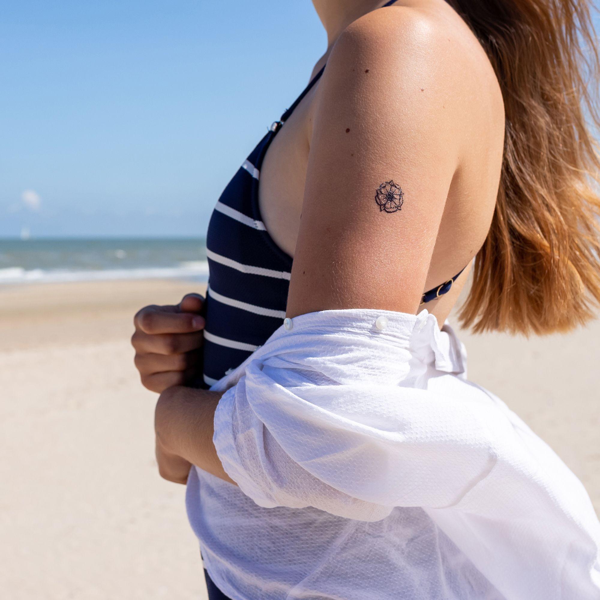 La vie est belle tatouage ephemere