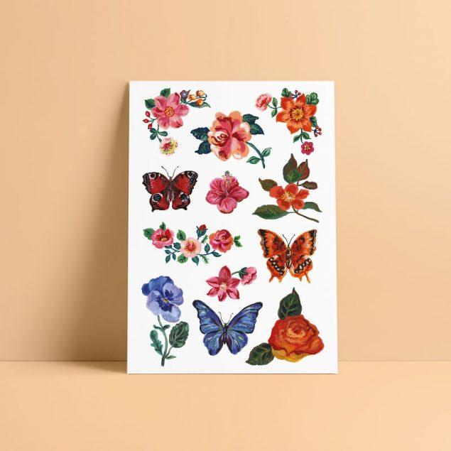 À fleur de peau tatouage ephemere